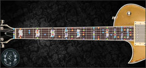 Guitar Fretboard Map by Lindale-FF