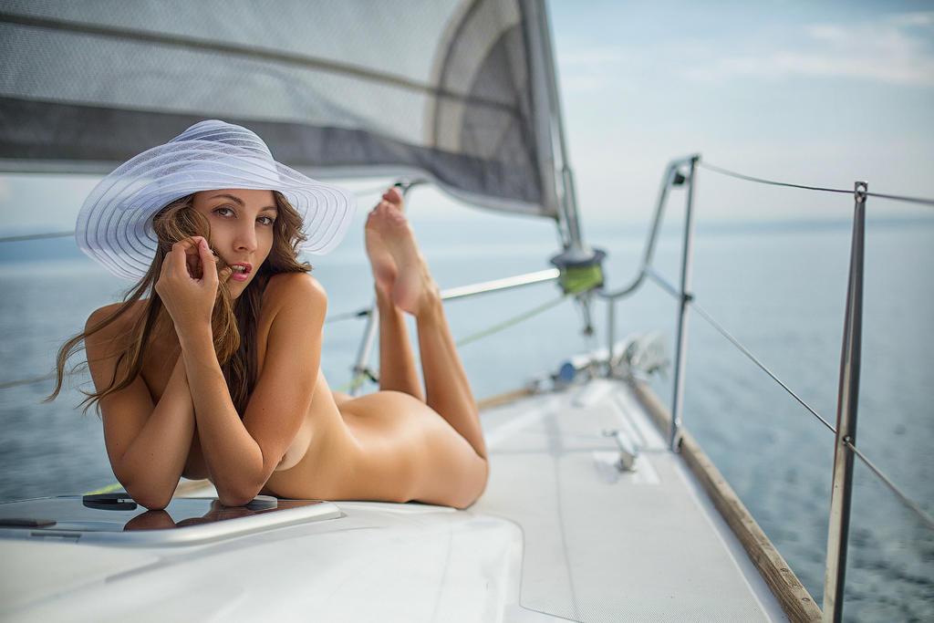 On Garda lake by Anna-model