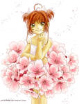 Sakuraflowerskirt