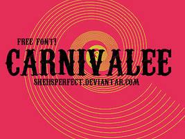 Carnivalee FREE FONT by sheiisperfect