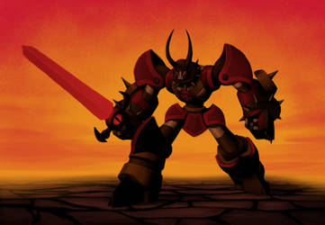 Destroyer by Laser-Fire