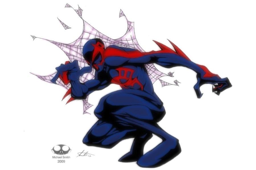 Spider-Man 2099 By Boondock22 On DeviantArt