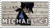 I love Michael Jackson {stamp} by cha0ticgirl