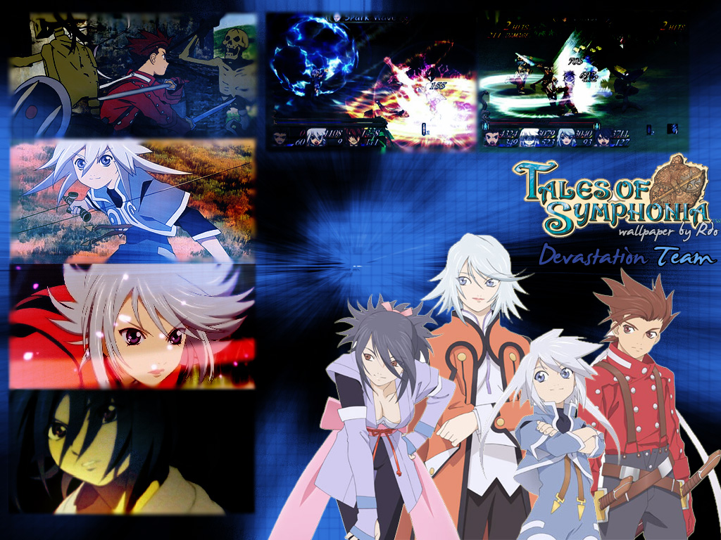 wallpaper tales of symphonia: