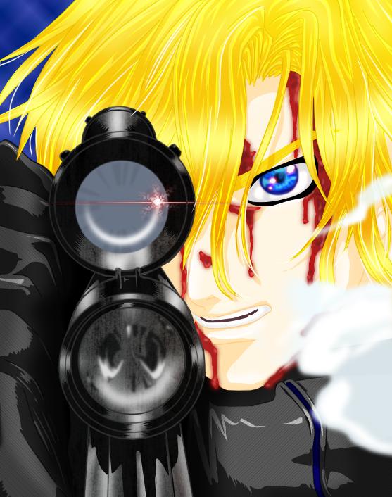 Bullet of the magic shooter by Varennik