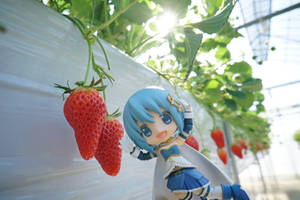 Strawberry and Sayaka!