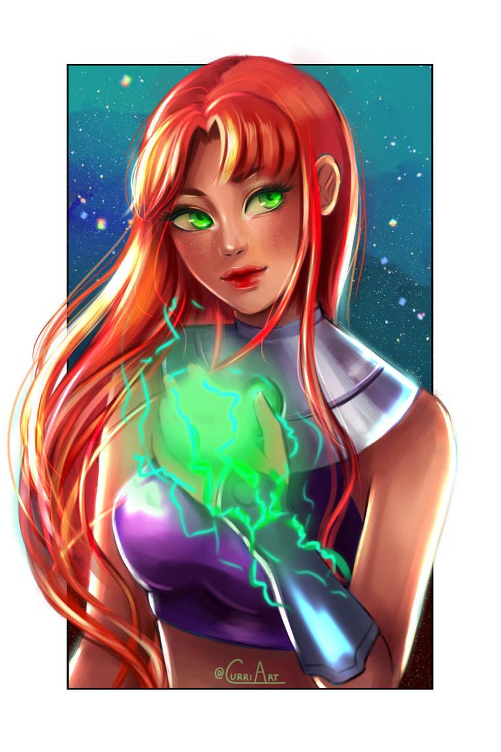 SixFanarts: #1 - Starfire