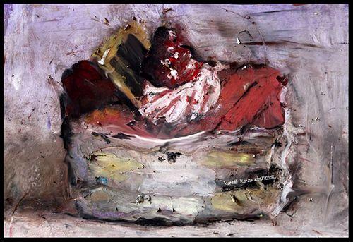 artbrut cake by konsketchbook