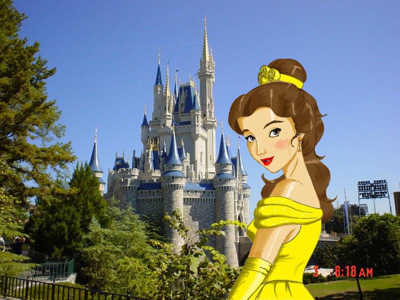 Walt Disney World Belle by Anime-Ray