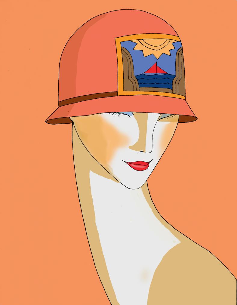 Art deco by anime ray on deviantart for Art deco illustration