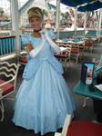 Princess Cinderella at Grotto