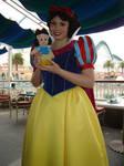 Snow White with Plushie