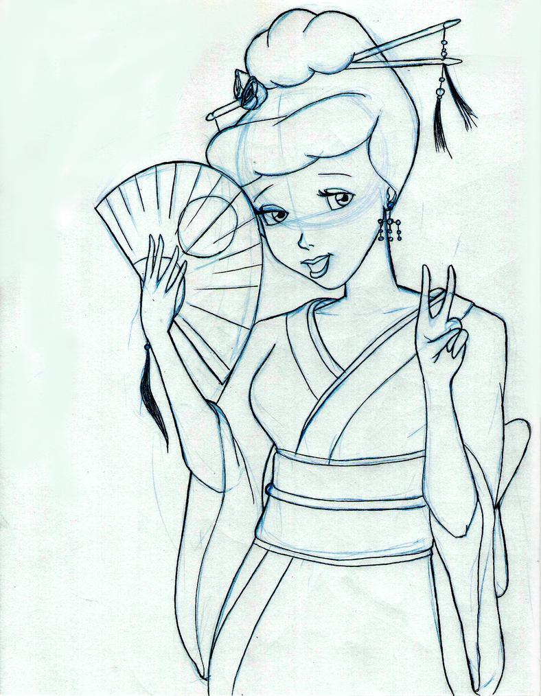 Cinderella in a Kimono...