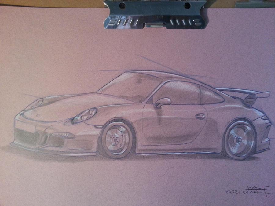 2013 Porsche 911 GT3 by Anime-Ray