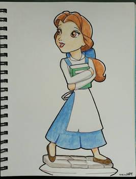 Disney Infinity Belle Concept