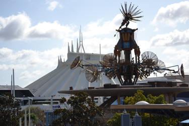 Tomorrowland Skyline