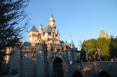 Sleeping Beauty Castle at Dusk