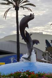 Dolphins Fountain