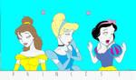Disney Princesses Nagel Style