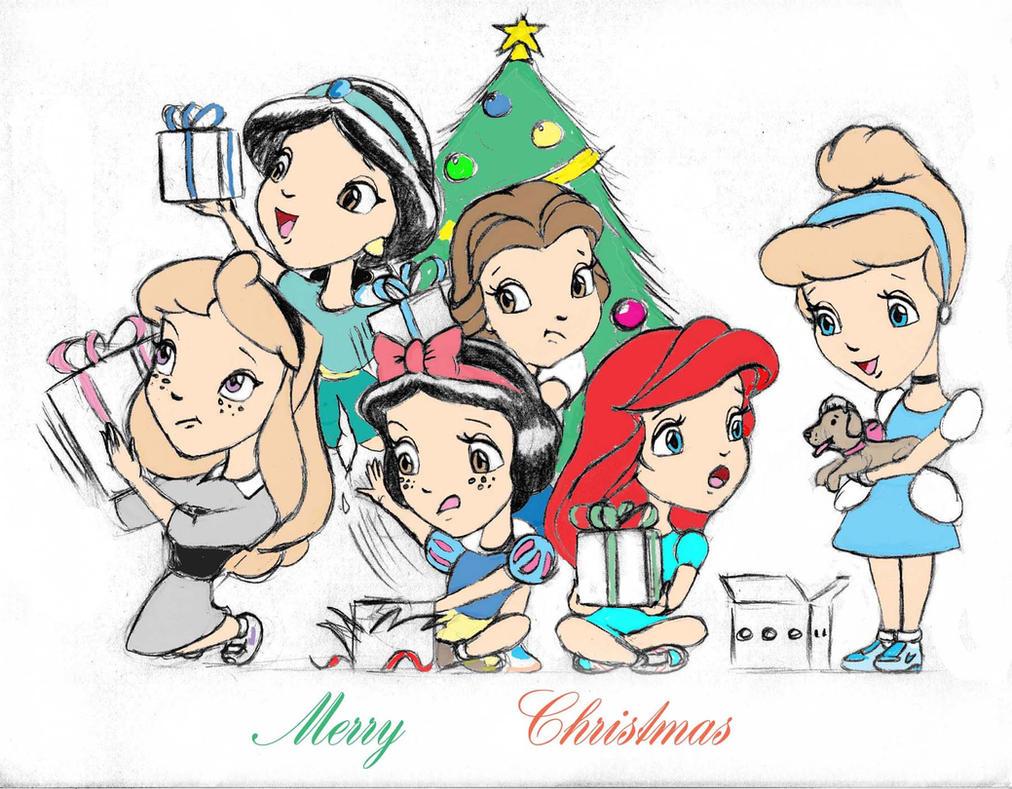 Disney Princess Kids Christmas by Anime-Ray on DeviantArt