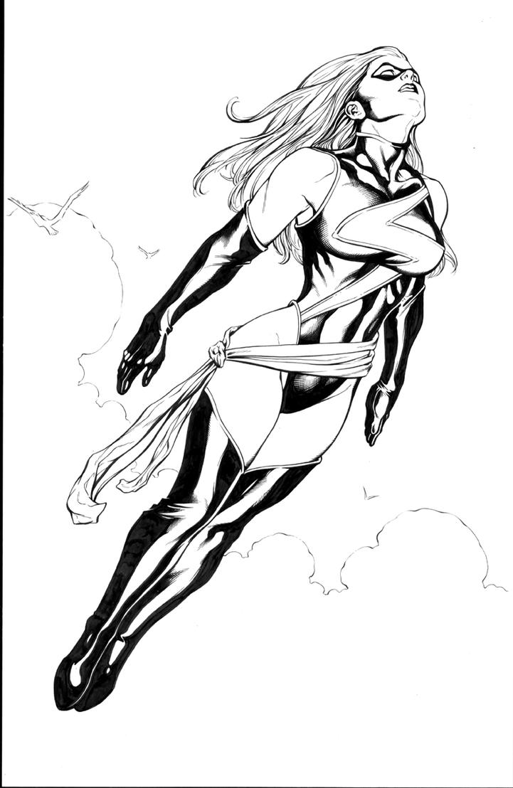 Coloring pages marvel - Ms Marvel Coloring Pages Search Results Fun Coloring Pages