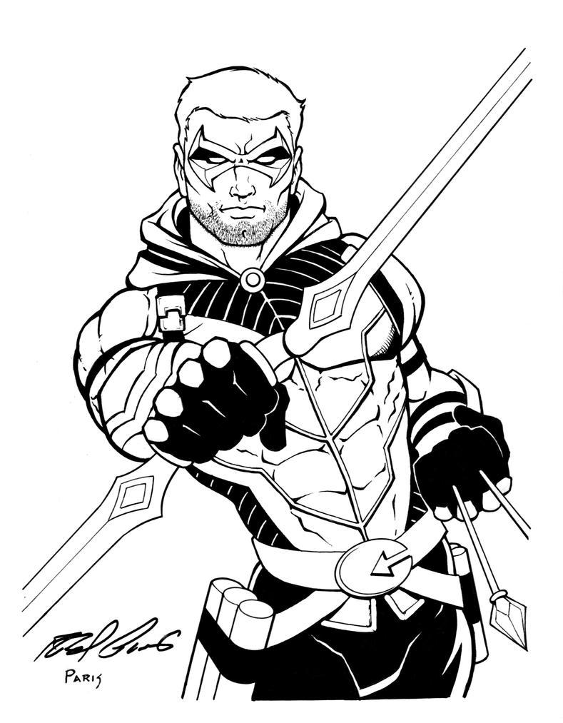 New 52 Green Arrow by RolandParis