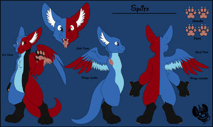 Splitz's Ref (Custom Dutchie for HappytonY on FA) by captainrex911