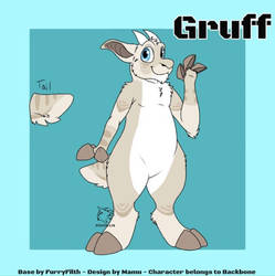 Gruff's Ref by captainrex911
