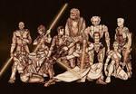 Star Wars: KOTOR gang sketch