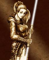SW:KOTORII - Exile Sketch by freyah