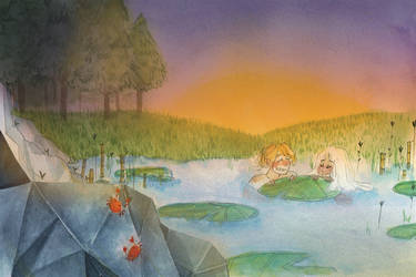 [NAAVINA] ARTBOOK - Baignade by princessepandora