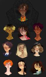 [SW] Portraits de famille by princessepandora
