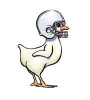 Football Chicken by jeh-artist