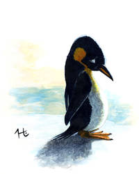 The Saddest Penguin by jeh-artist
