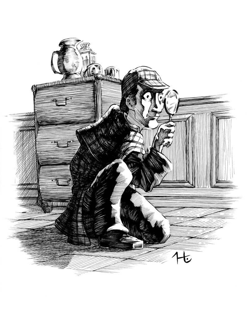 Cartoon Sherlock