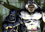 Black Panther vs. Man-Ape