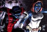 Nightcrawler vs. Mystique