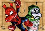 Spider-Ham vs. Ducktor Doom