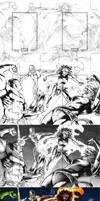 Marvel H and V Artist Proof 1