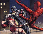 Daredevil/Elektra/Bullseye