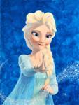 Queen Elsa by jeh-artist