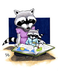 Story Time by jeh-artist