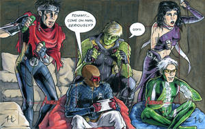 Young Avengers by jeh-artist
