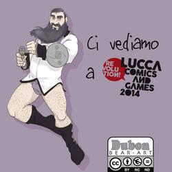 Ci vediamo a Lucca CG by D-u-b-o-n