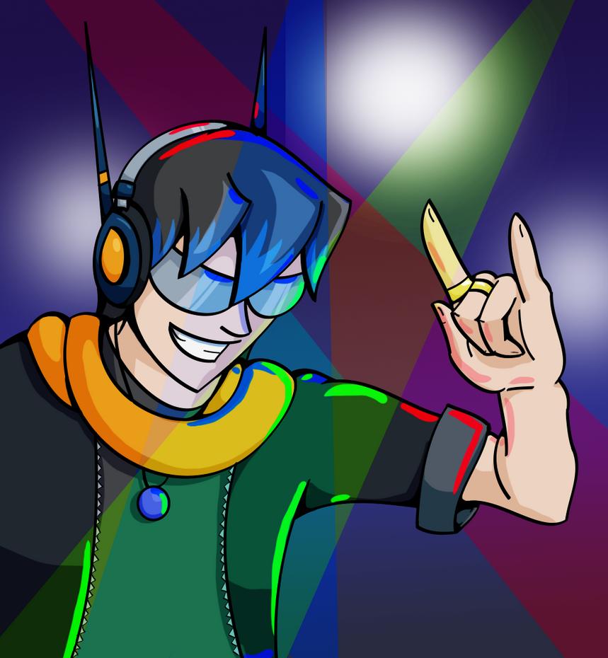DJ Stratodeus by Bandana-Pheonyx