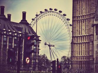 London Eye by FlowerOfTheForest