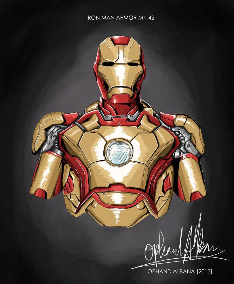Iron Man Mark 3000 ~ Iron man mk by ophanda on deviantart