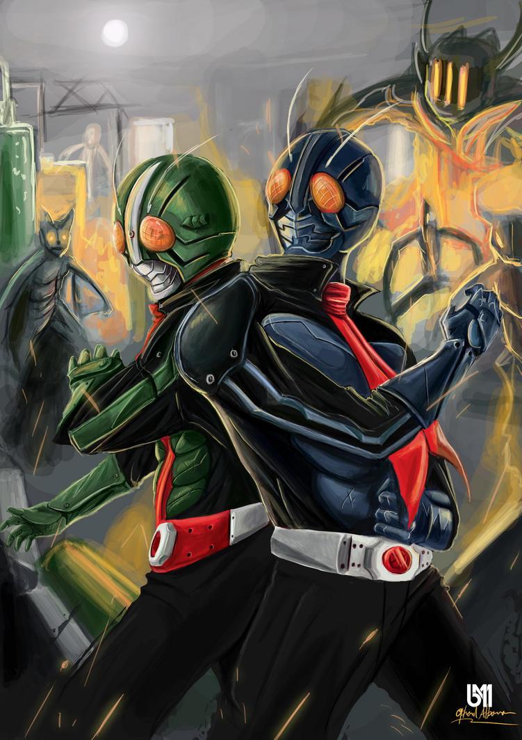 Kamen Rider Ichigo  Nigo by ophanda