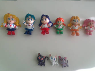 Updated Sailor Moon collection