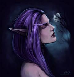 Night Elf   Warcraft inspired